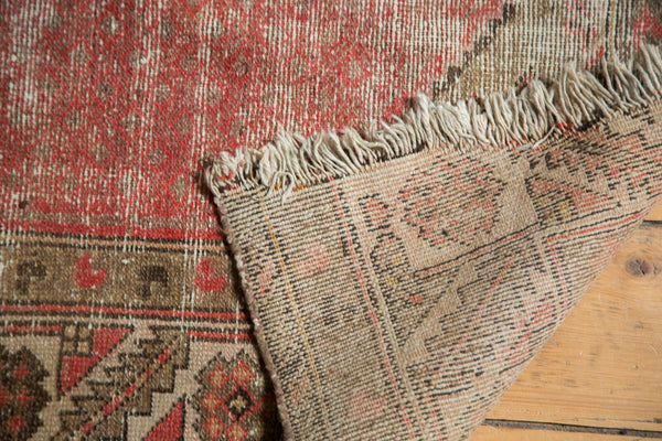 Vintage Malayer Square Rug