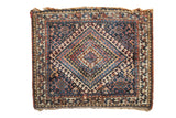 Antique Jaff Kurd Rug Mat