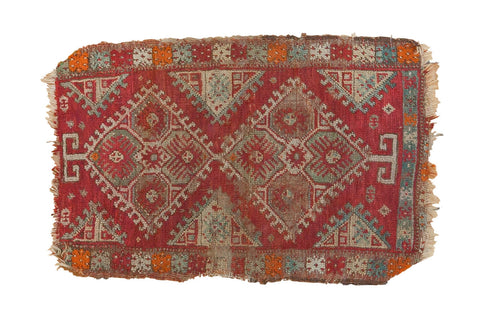 Antique Yastik Rug Mat