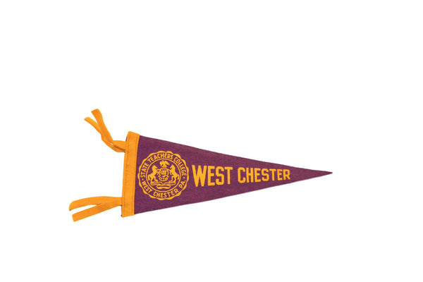 West Chester State Teachers College PA Felt Flag - Old New House