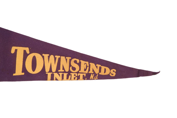 Townsend Inlet NJ Felt Flag - Old New House