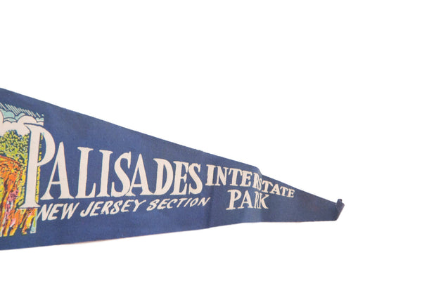 Palisades Interstate Park New Jersey Section Felt Flag - Old New House