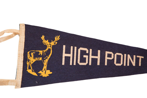High Point NJ Deer Felt Flag - Old New House