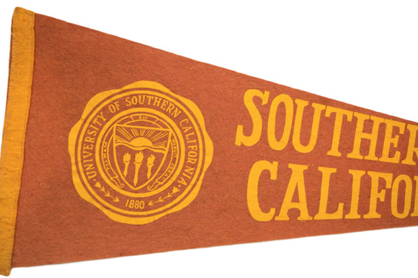 University of Southern California Felt Flag - Old New House