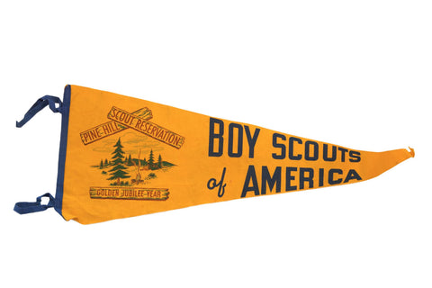 Boy Scouts of America Felt Flag - Old New House