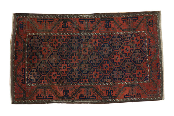 3' x 5' Antique Belouch Rug / Item 3932 image 1