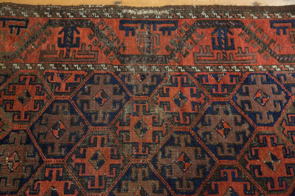 Antique Belouch Rug / Item 3932 image 4