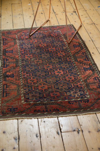 Antique Belouch Rug / Item 3932 image 5