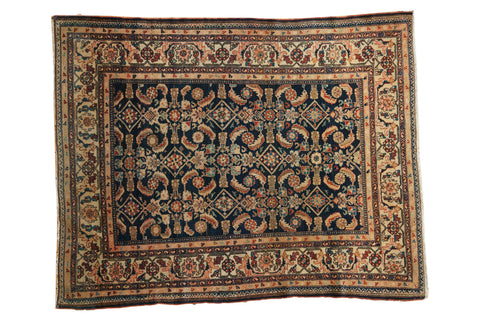 5x6 Vintage Malayer Square Rug // ONH Item 3937