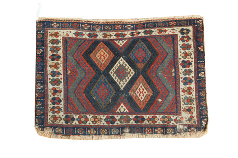 2x3 Antique Jaff Kurd Rug // ONH Item 3949