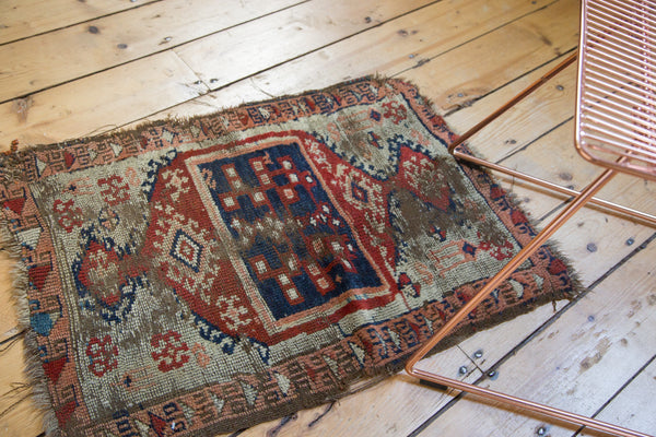 Antique Anatolian Rug Mat