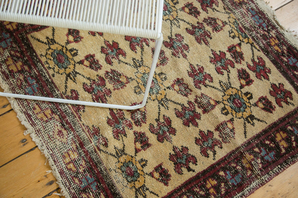 Vintage Turkish Square Rug