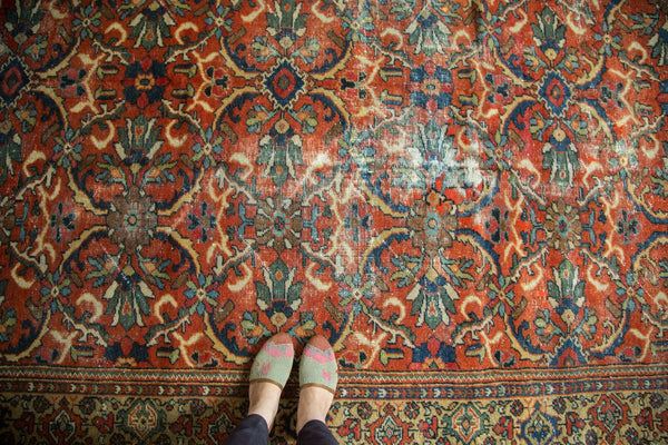1950's Vintage Persian Mahal Carpet
