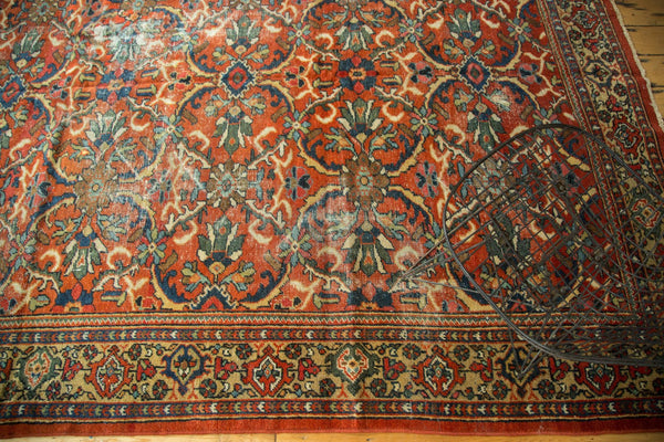 7x10.5 Vintage Mahal Carpet - Old New House