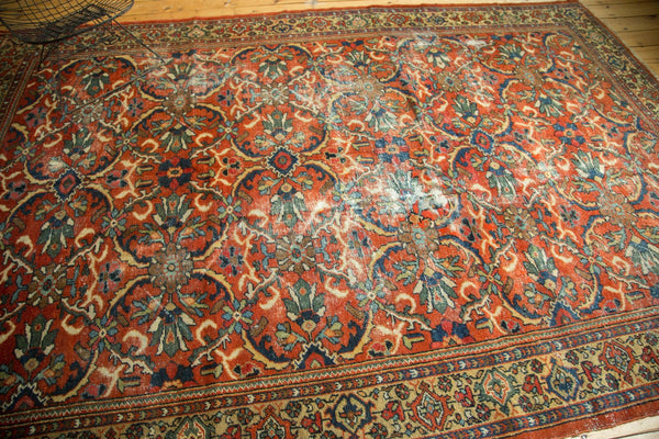 Worn Vintage Mahal Carpet