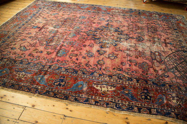9x12 Antique Fine Lilihan Carpet - Old New House