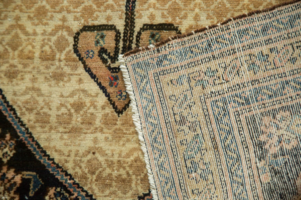 Antique Malayer Serab Square Rug