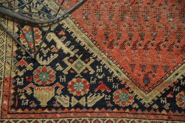Antique Malayer Rug Runner Hand Knotted Persian Rug