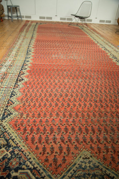 Allover repeating design persian Antique Malayer Rug Runner