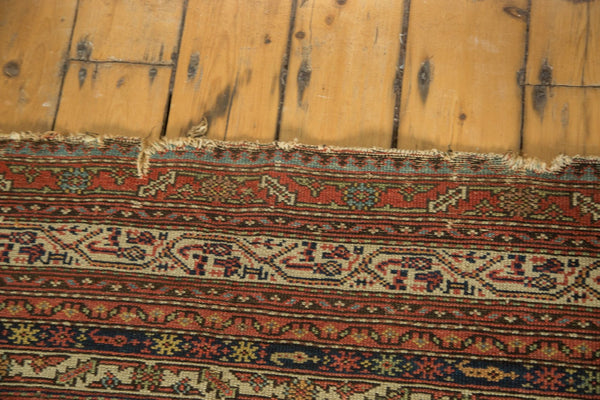 Worn Antique Malayer Rug Runner