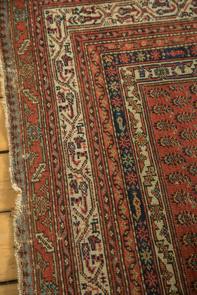 Antique Malayer Rug Runner Borders