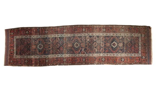 Antique Hand Knotted Belouch Rug Runner