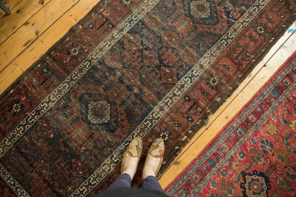 Early 20th Century Antique Belouch Rug Runner