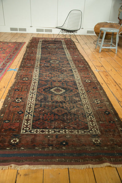 Antique Belouch Rug Runner Unusual and Hard To Find