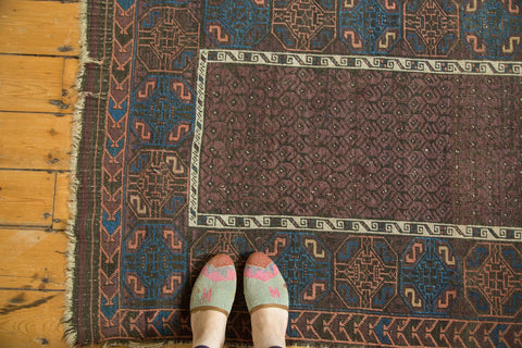 Small Antique Fine Belouch Rug