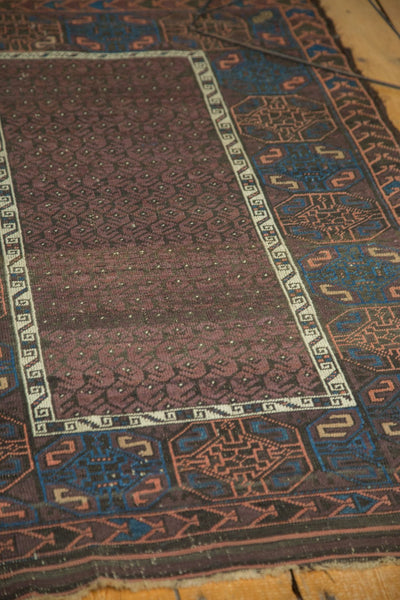 Antique Fine Belouch Rug / Item 4075 image 6