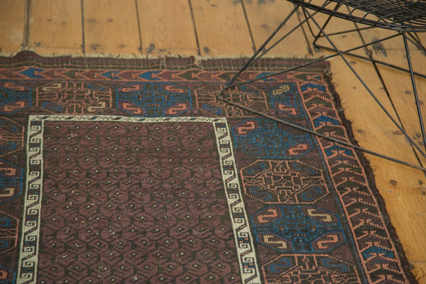 Antique Fine Belouch Rug