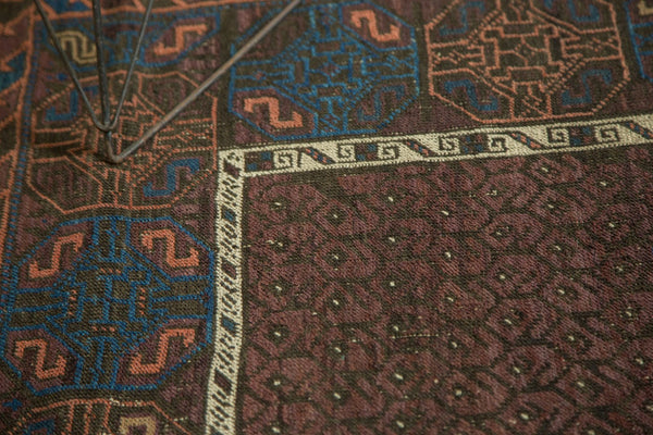 Antique Fine Belouch Rug With Allover Boteh Design Motif