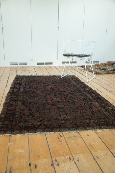 Antique American Sarouk Rug / Item 4126 image 4