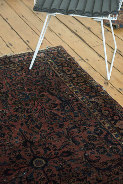Antique American Sarouk Rug / Item 4126 image 5