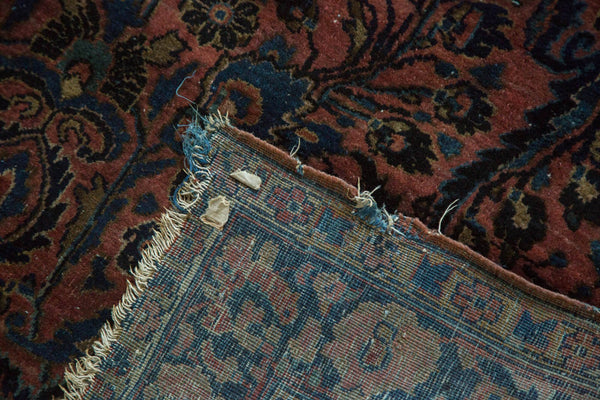 Antique American Sarouk Rug / Item 4126 image 8