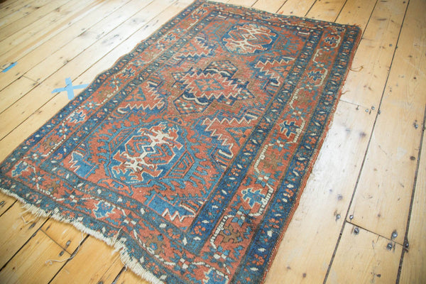 Antique Fine Heriz Rug / Item 4138 image 3