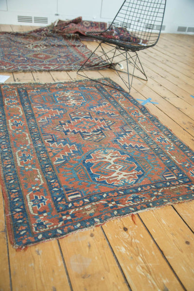 Antique Fine Heriz Rug / Item 4138 image 4
