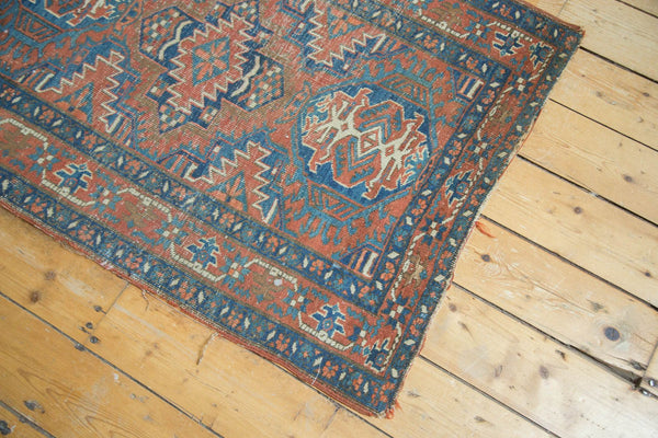 Antique Fine Heriz Rug / Item 4138 image 5