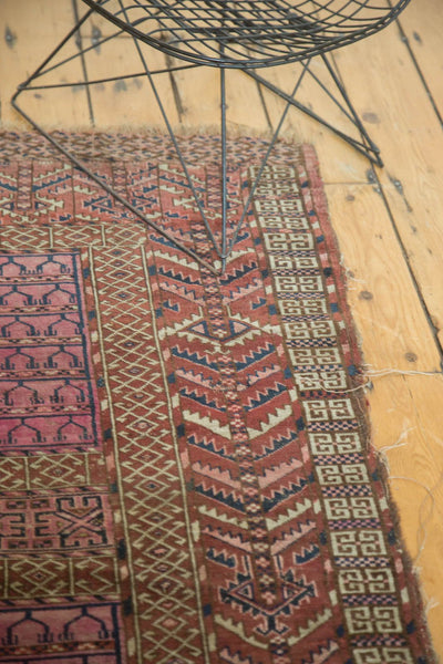 Antique Turkmen Square Rug / Item 4143 image 7