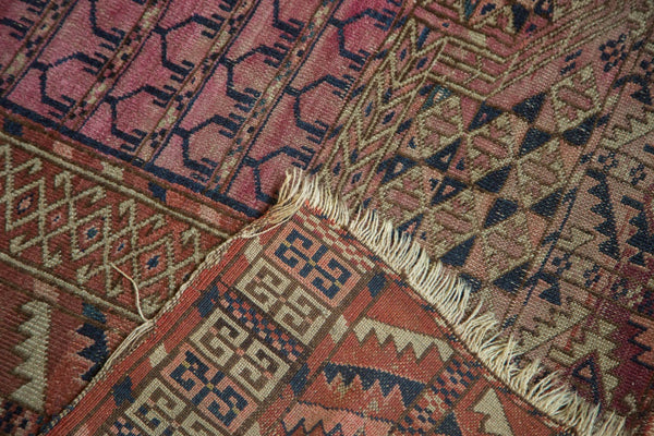 Antique Turkmen Square Rug / Item 4143 image 8