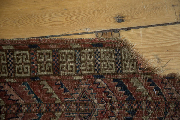 Antique Turkmen Square Rug / Item 4143 image 11