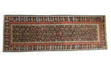 Antique Kuba Caucasian Rug Runner
