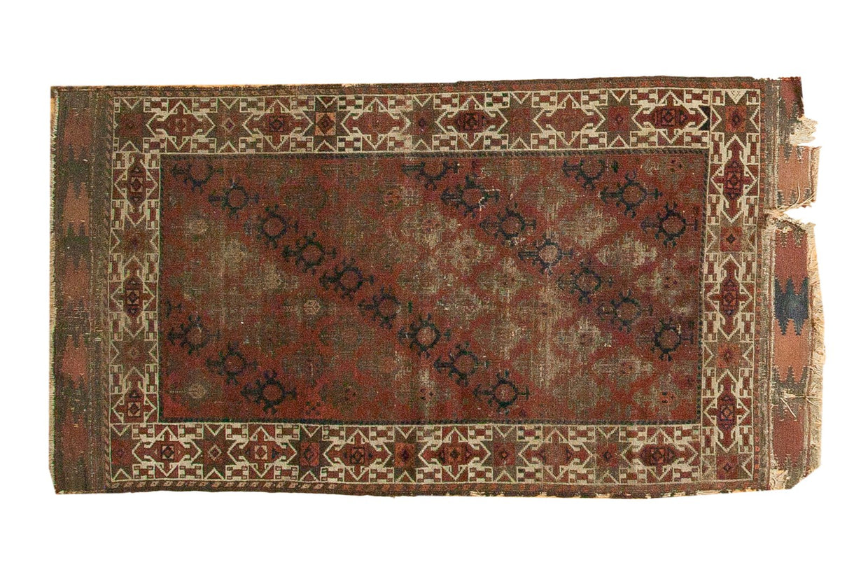 3x5.5 Antique Belouch Rug // ONH Item 4148