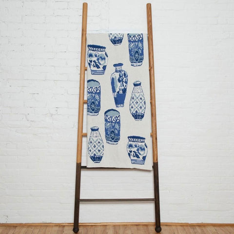 Eco-Friendly Made in USA Blanket Delft Blue // ONH Item 4194