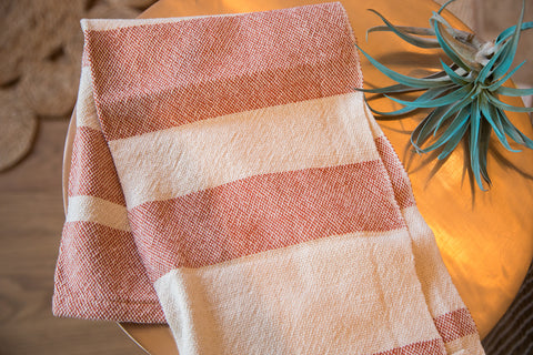 Handwoven in USA Loomination Dish Towel Sienna