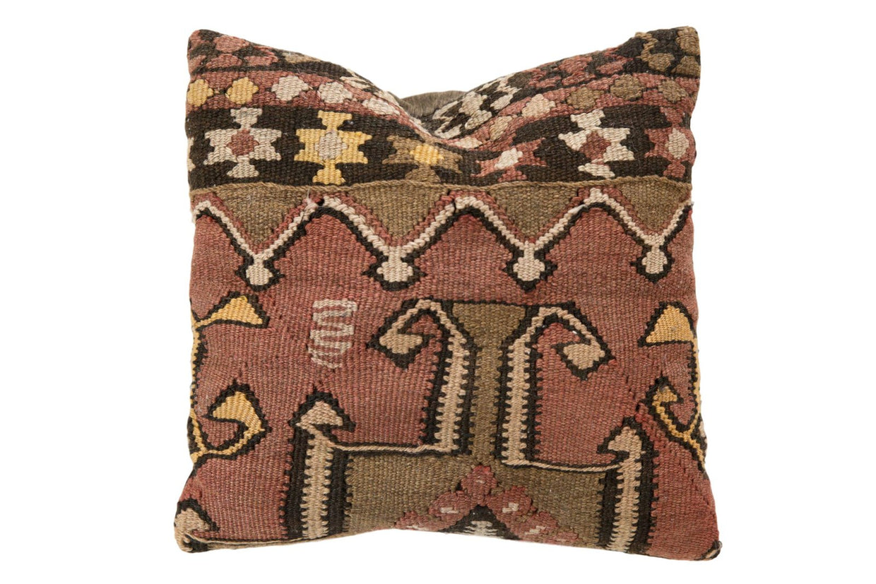 Vintage Kilim Throw Pillow