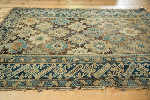 Antique Caucasian Square Rug / Item 4233 image 3