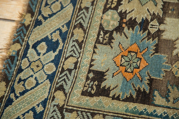 Antique Caucasian Square Rug / Item 4233 image 4