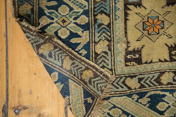 Antique Caucasian Square Rug / Item 4233 image 8