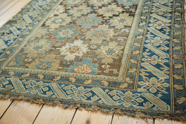 Antique Caucasian Square Rug / Item 4233 image 10